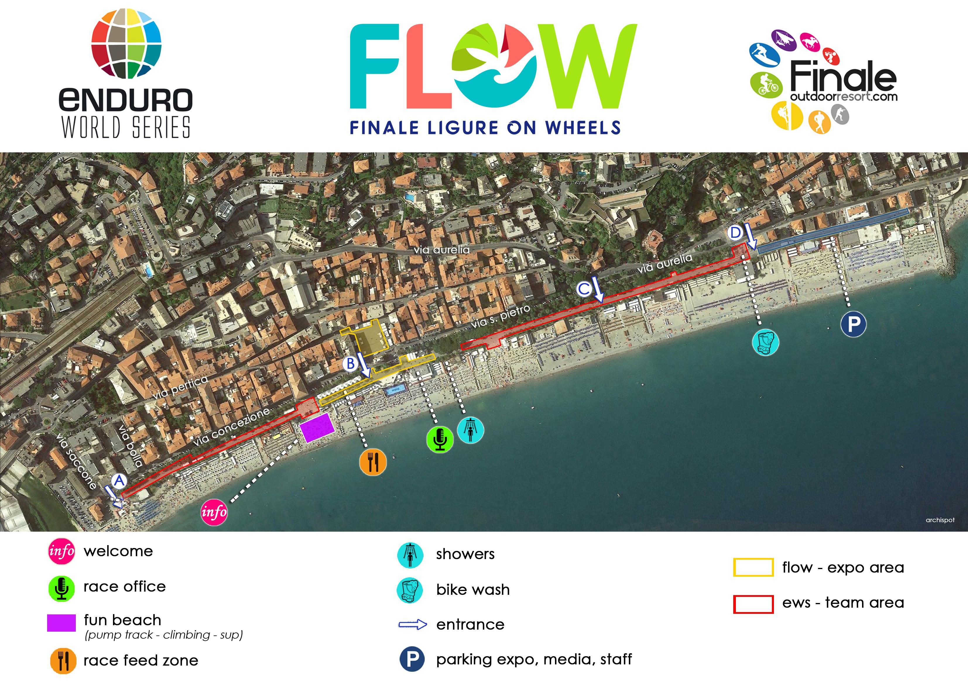 FLOW FESTIVAL, TUTTE LE ATTIVITA' IN PROGRAMMA A FINALE LIGURE