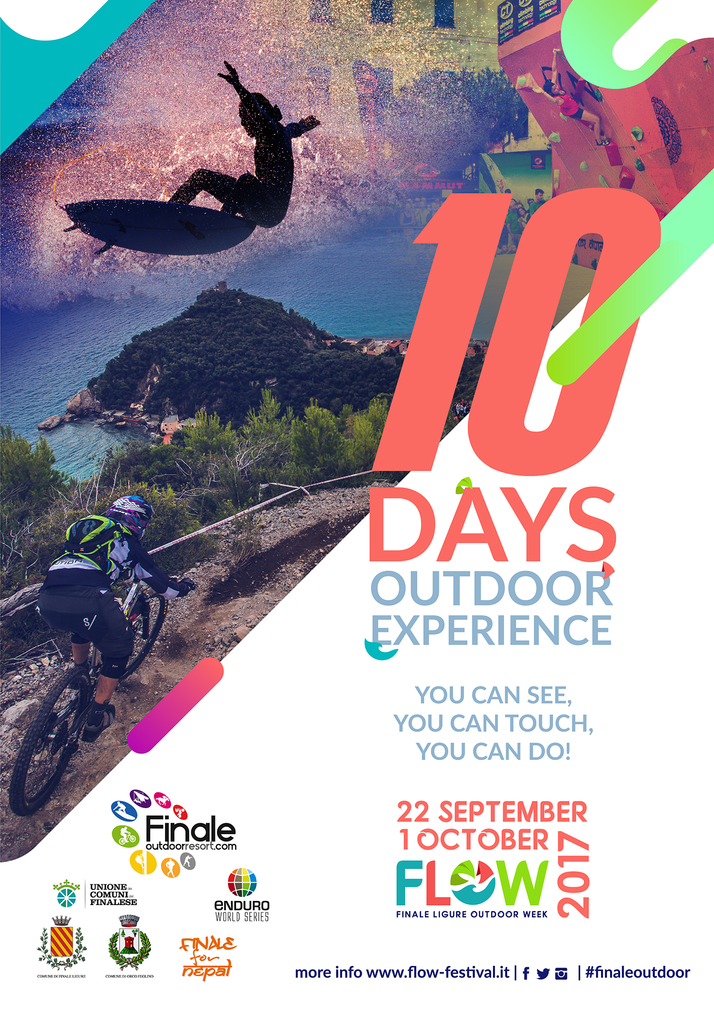 FINALE LIGURE OUTDOOR WEEK 2017: EXPERIENCE THE OUTDOORS TO THE FULL